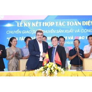 Công ty BeC Việt Nam nhận chuyển giao công nghệ từ Tập đoàn OLIVER+BATLLE