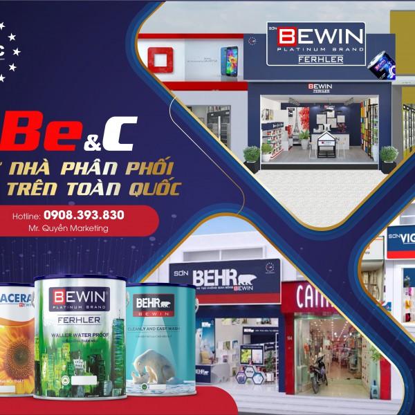 Mở đại lý sơn cùng Bewin & Coating Vietnam – Làm chủ doanh nghiệp của mình